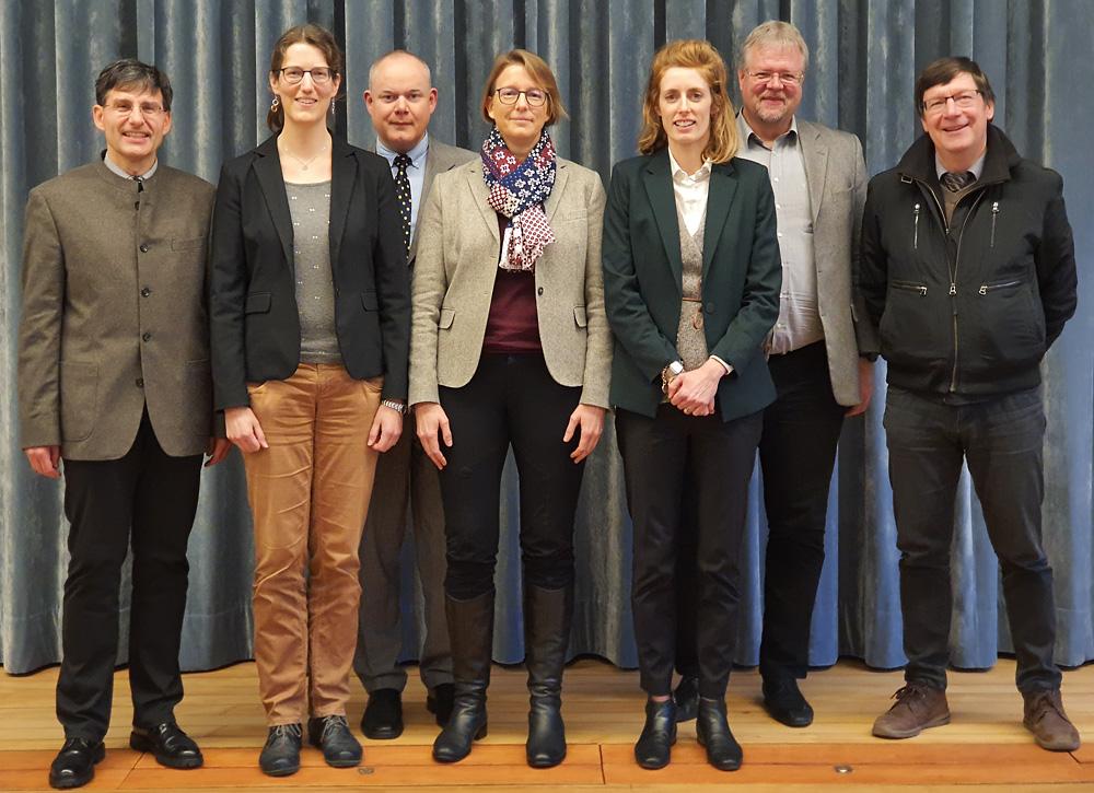 Vorstand der SVEK, Schweizerische Vereinigung für evangelisches Kirchenrecht (Foto Werner Näf, Januar 2020)